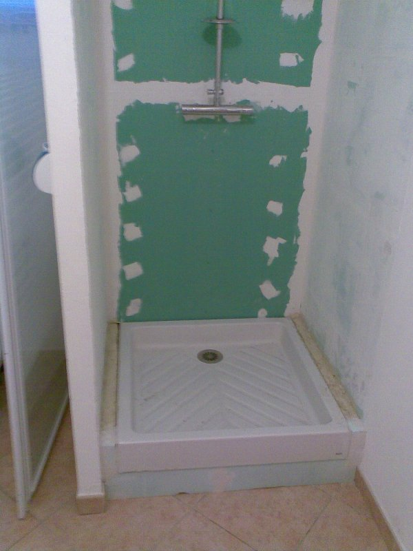 pose carrelage salle de bain sur placo palzon